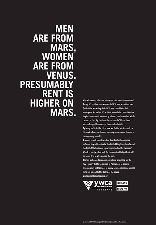 YWCA Men are from Mars Women are from Venus