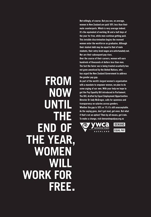 YWCA Women Work for Free