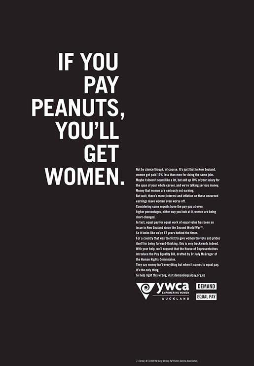 YWCA Women Work for Peanuts