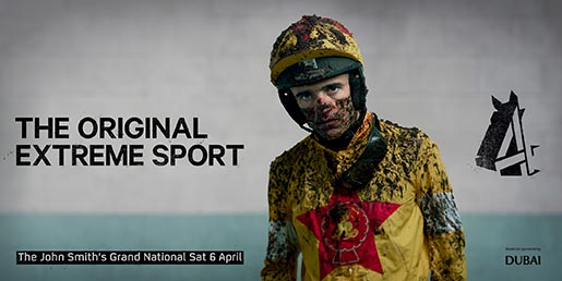 Channel 4 Grand National Ruby Walsh poster