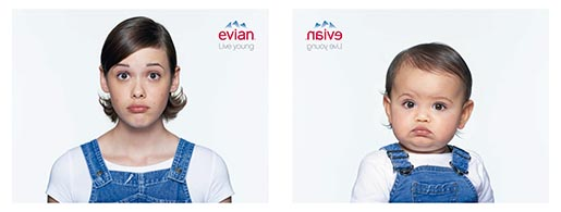 Evian Mathilde and Lola