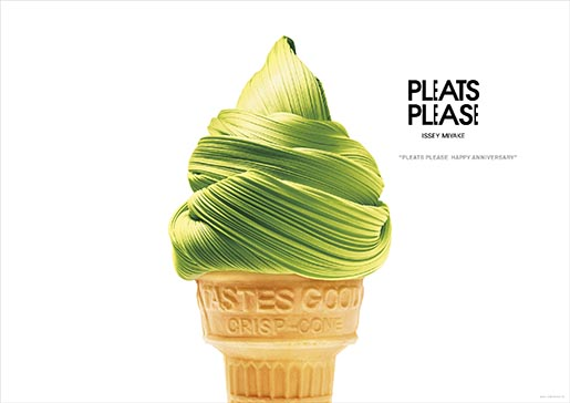 Pleats Please Ice Cream Cone
