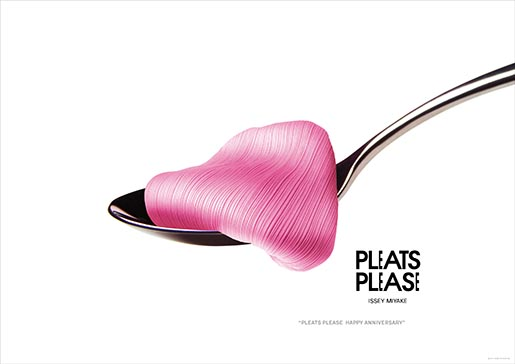 Pleats Please Spoon