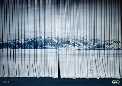 Land Rover Curtain Arctic