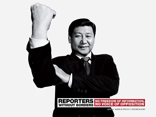 Reporters Without Borders Xi Jinping