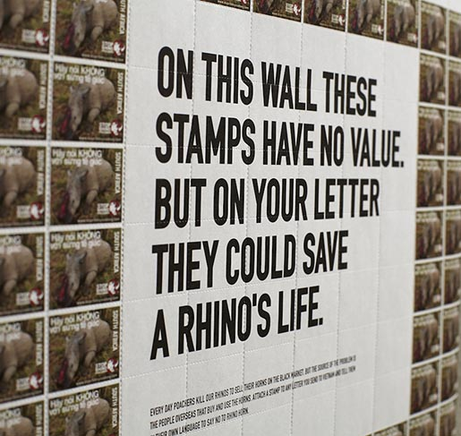 The Rhino Stamps Poster Detail