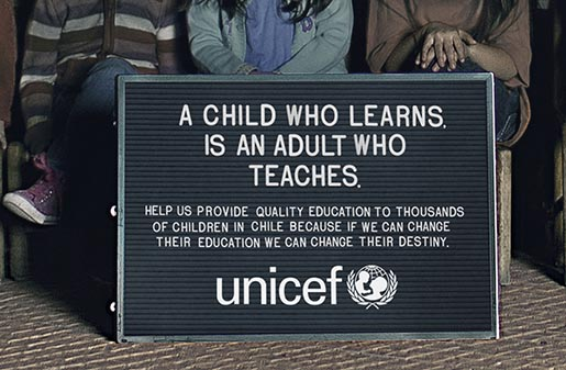 UNICEF A Child Who Learns