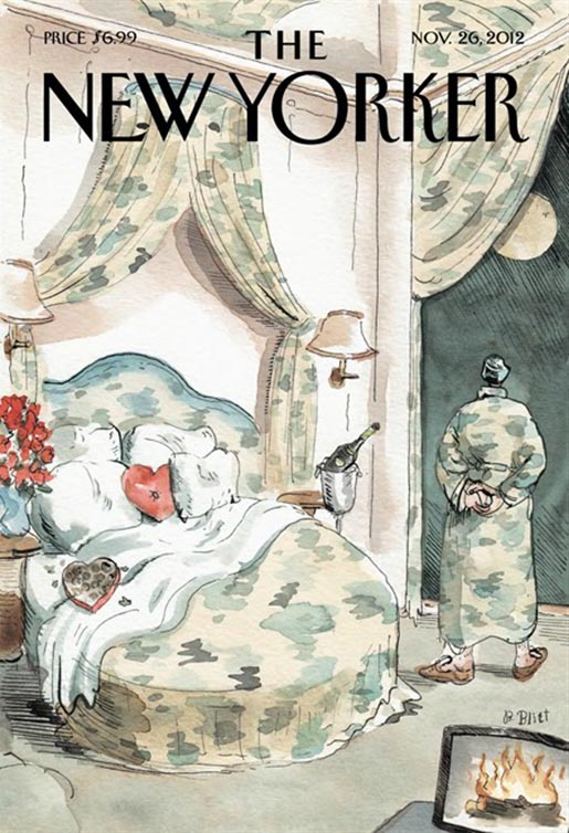 New Yorker Cover February 2013