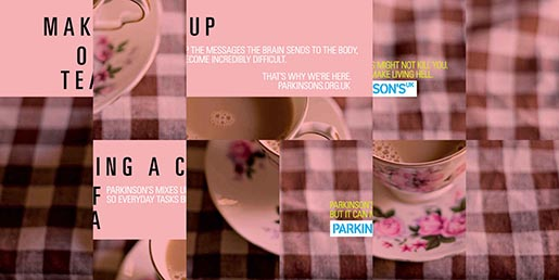 Parkinsons UK Making a cup of tea