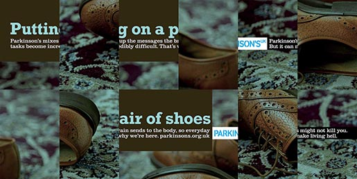 Parkinsons UK Putting On Shoes