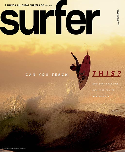 Surfer Cover March 2013