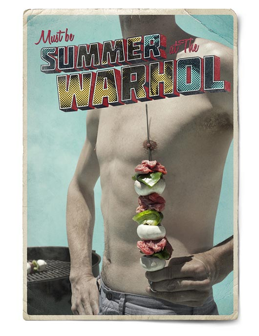 Andy Warhol Museum Must Be Summer print ad