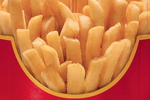 McDonalds Fries Spread