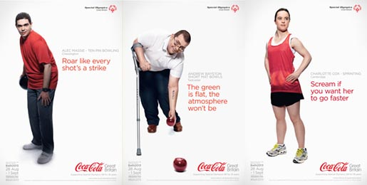 Coca Cola Special Olympics Posters