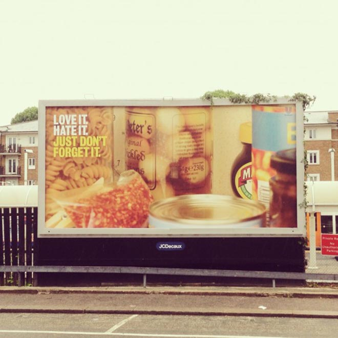 Marmite Don't Forget It - Billboard