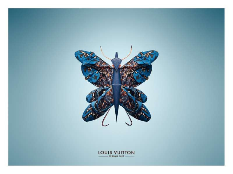 Louis Vuitton Made In France >> Louis Vuitton Spring Collection Insects - The Inspiration Room