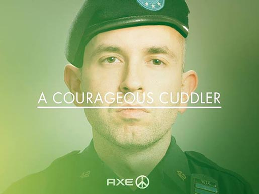 Axe Peace - A Courageous Cuddler