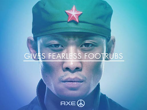 Axe Peace - Gives Fearless Footrubs