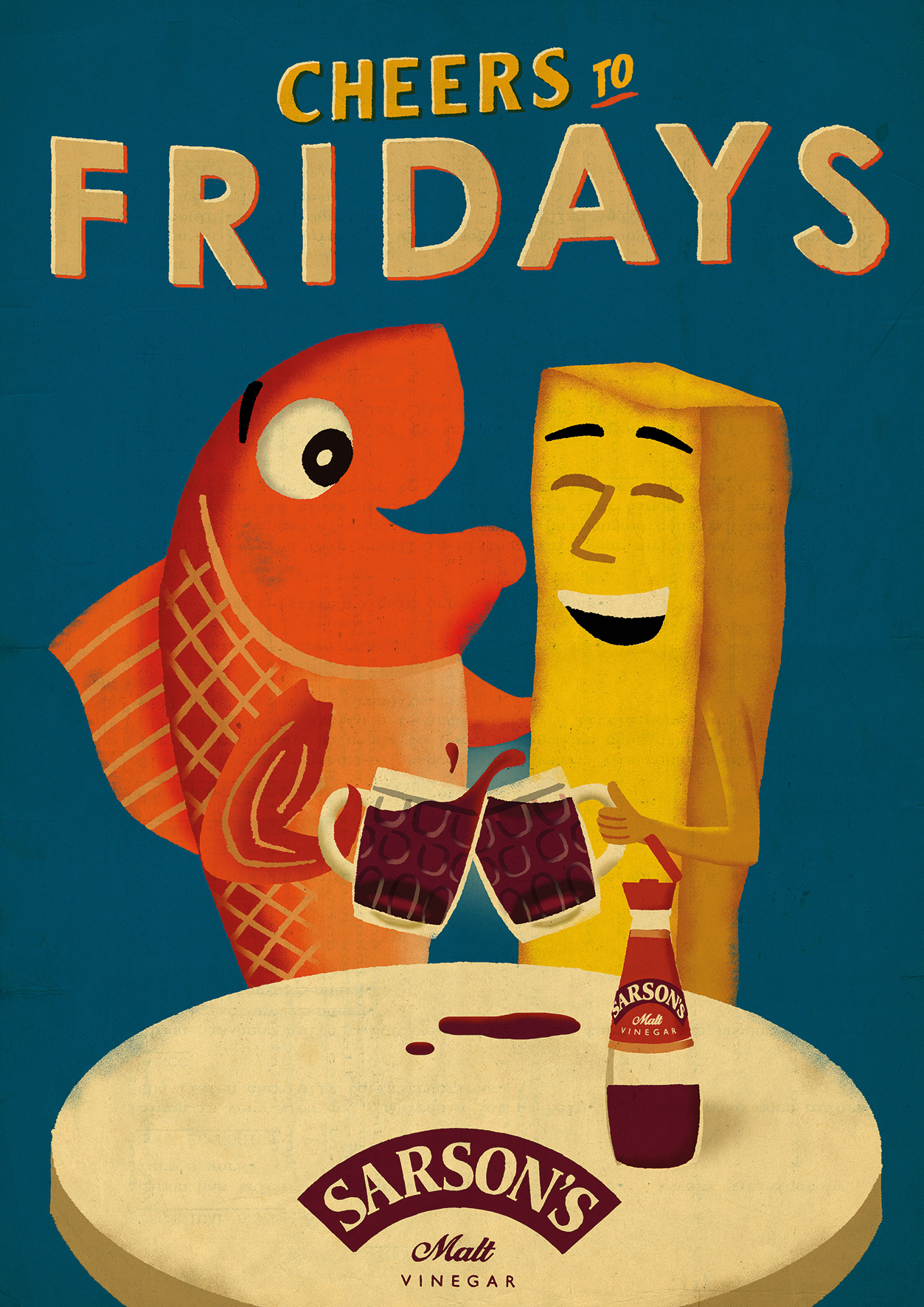 Sarsons Fish Amp Chips On Fridays The Inspiration Room