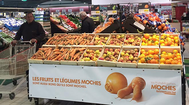 Intermarche Store - Inglorious Fruit and Vegetables