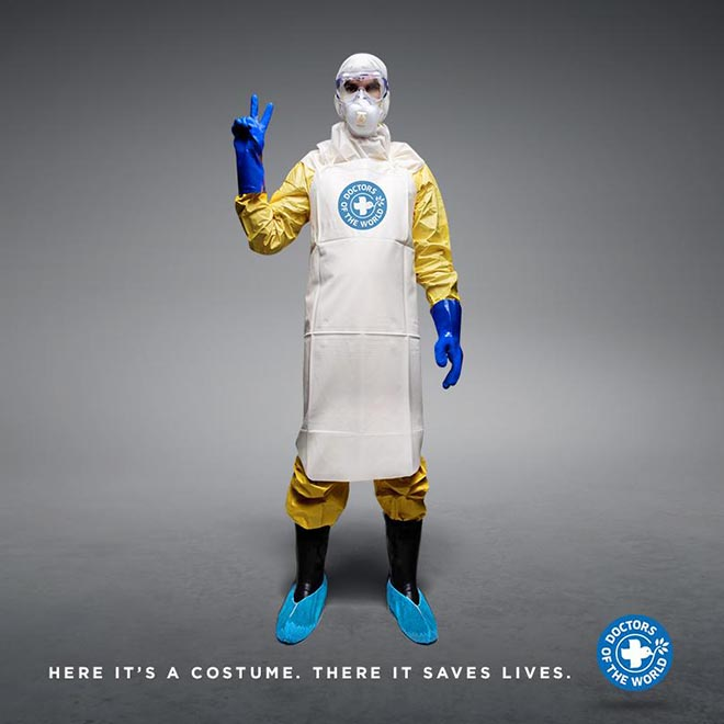 More Than A Costume - Ebola Hazmat Suit