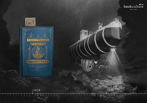 Book Culture 20,000 Leagues Under The Sea Imagination Got There First