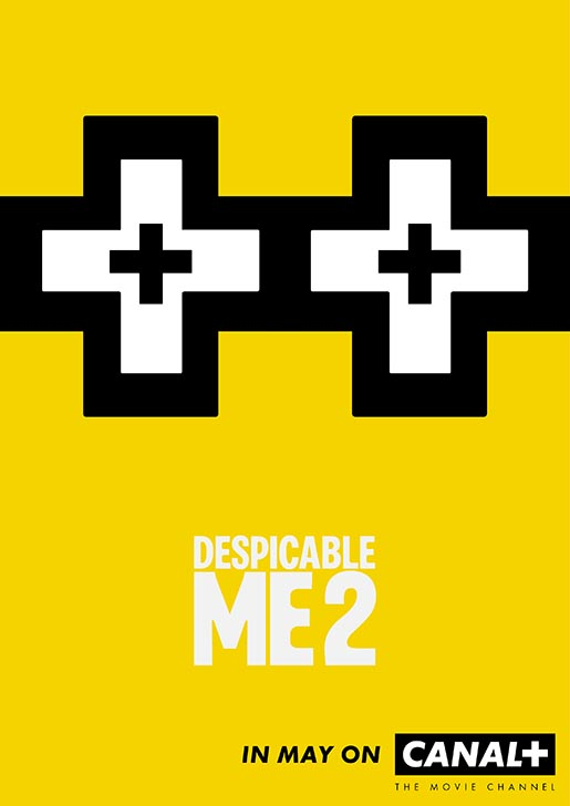 Canal Plus Despicable Me Poster