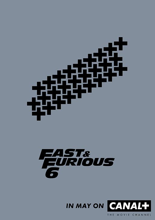Canal Plus Fast & Furious Poster