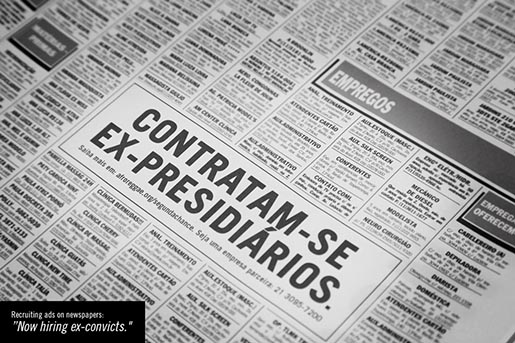 Segunda Chance Newspaper ad