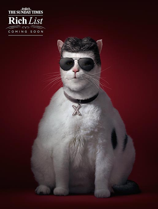 Sunday Times Rich List Fat Cat Simon Cowell