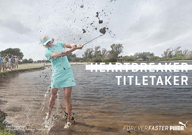 Puma Forever Faster Lexi Thompson Title Taker