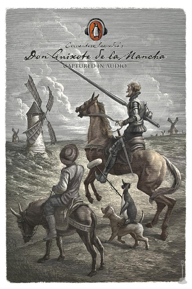 Penguin Books Captured in Audio - Don Quixote