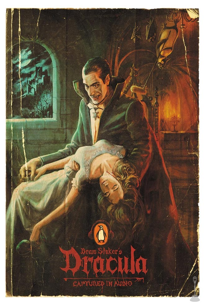 Penguin Books Captured in Audio - Dracula