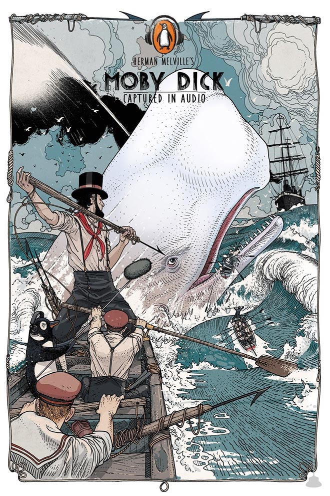 Penguin Books Captured in Audio - Moby Dick