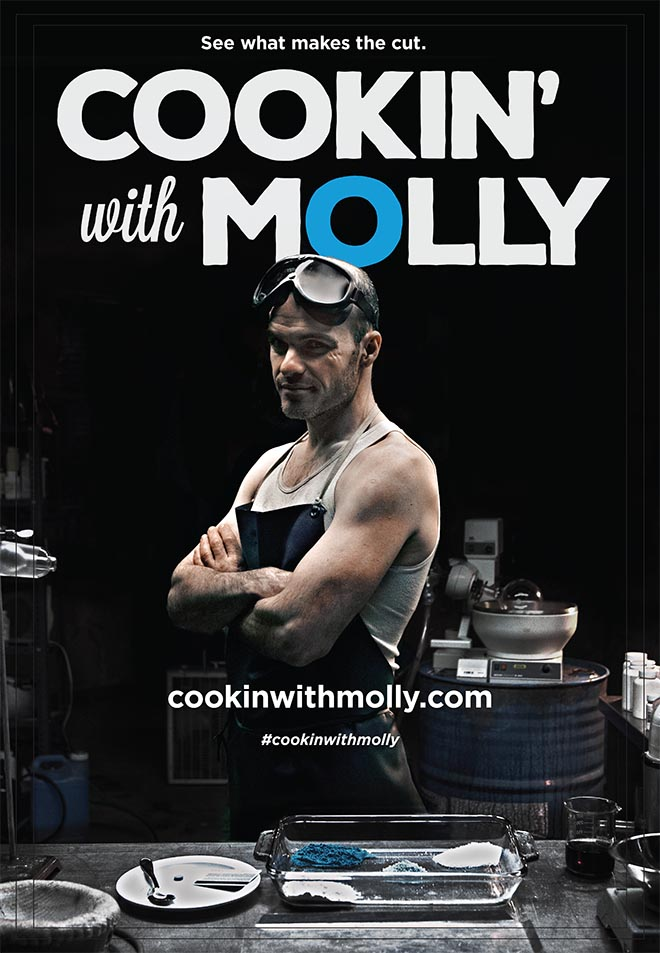 Cooking with Molly poster