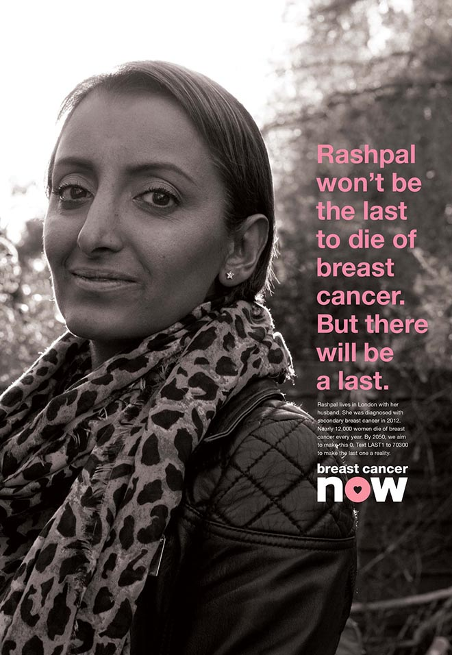 Breast Cancer Now The Last One poster - Rashpal