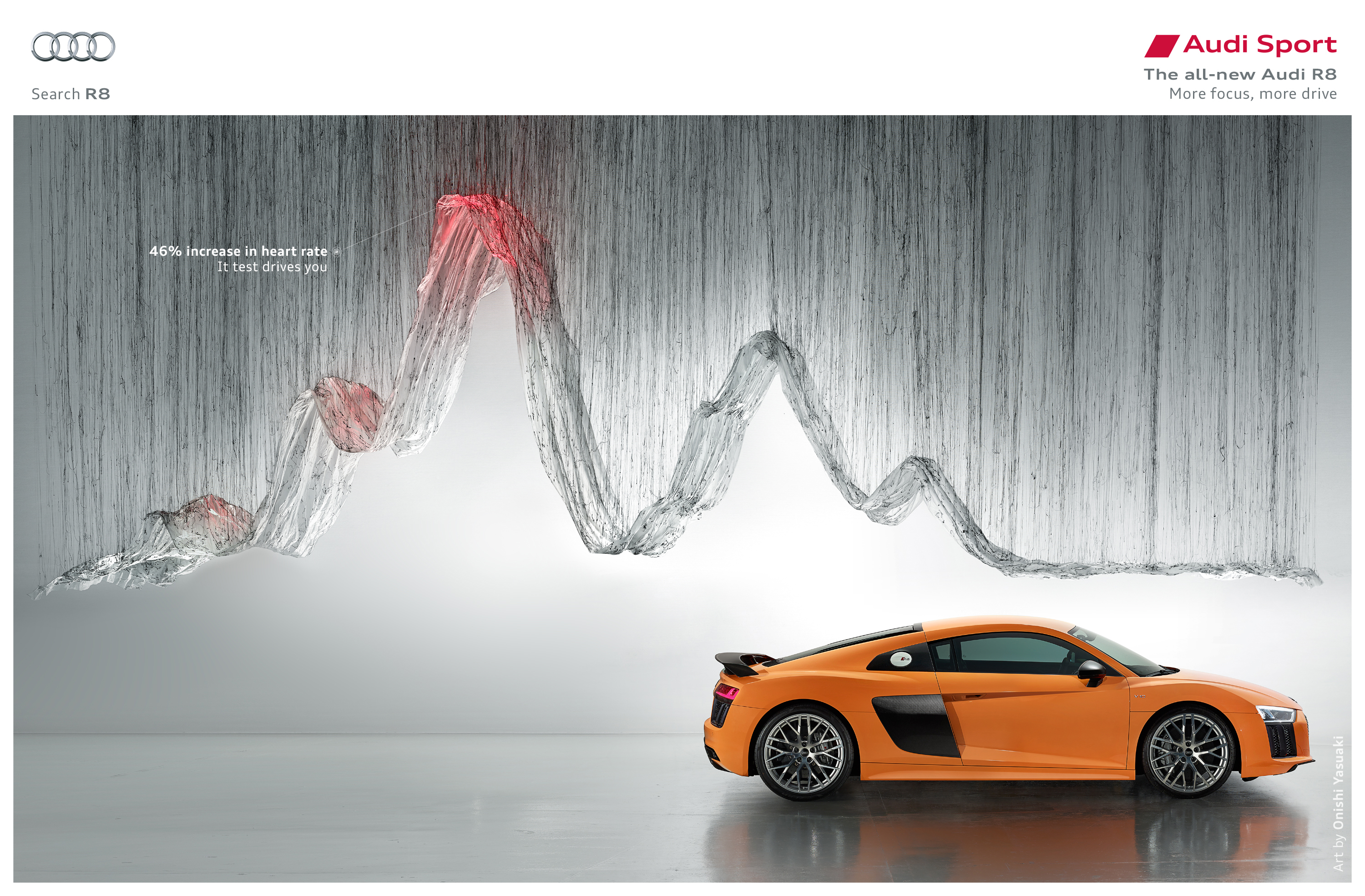 Audi R Test Drives You The Inspiration Room - Audi r8 commercial
