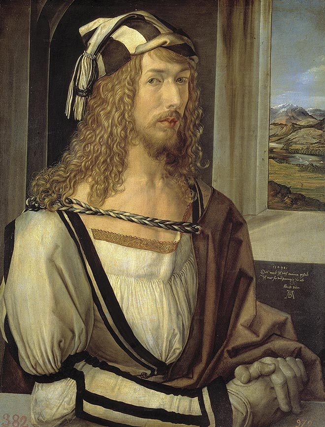 Self Portrait by Albrecht Dürer