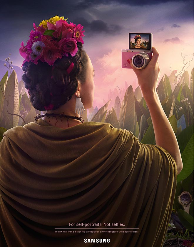 Samsung Self Portrait by Frida Kahlo