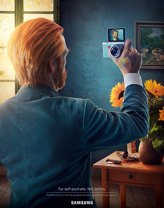 Samsung Self Portrait by Vincent Van Gogh