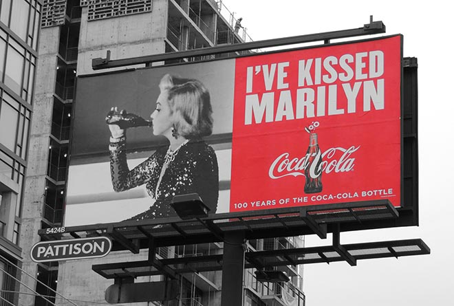 Coca Cola I've Kissed Marilyn