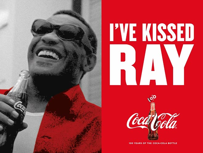 Coca Cola I've Kissed Ray