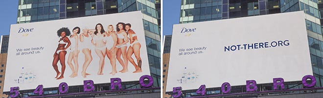 Not There Yet Dove Before & After
