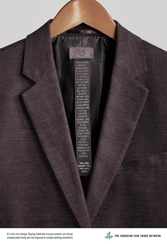 Fair Trade End Child Labour Label Doesn't Tell The Whole Story - Suit Jacket