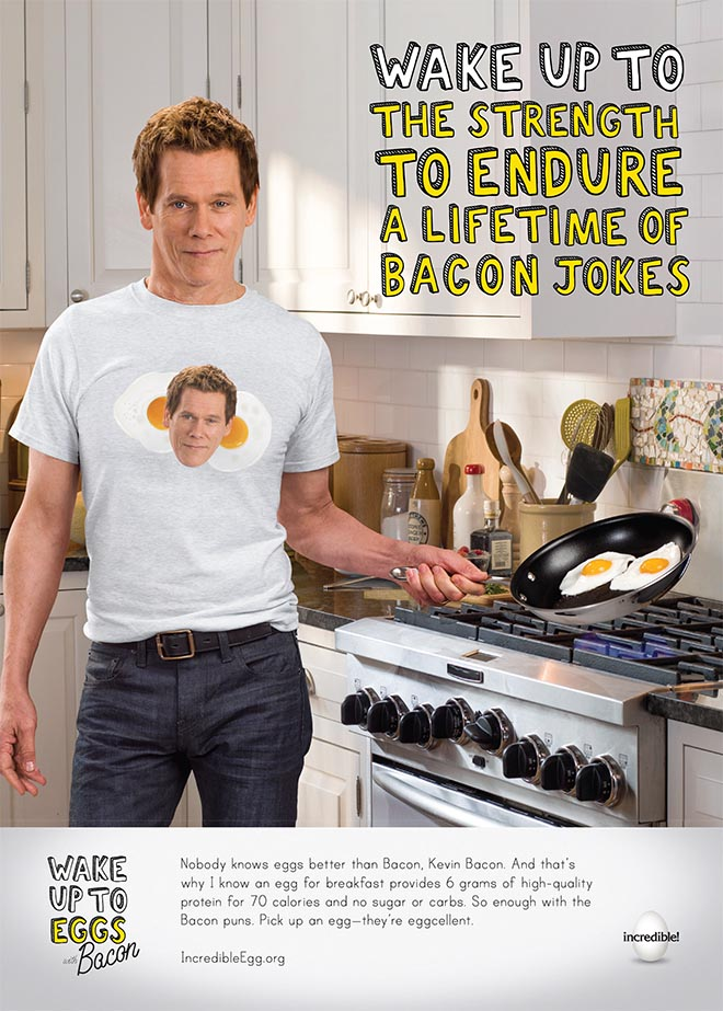 Kevin Bacon Wake up to the strength