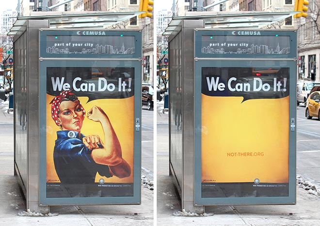 Not There Yet Rosie The Rivetter Before & After