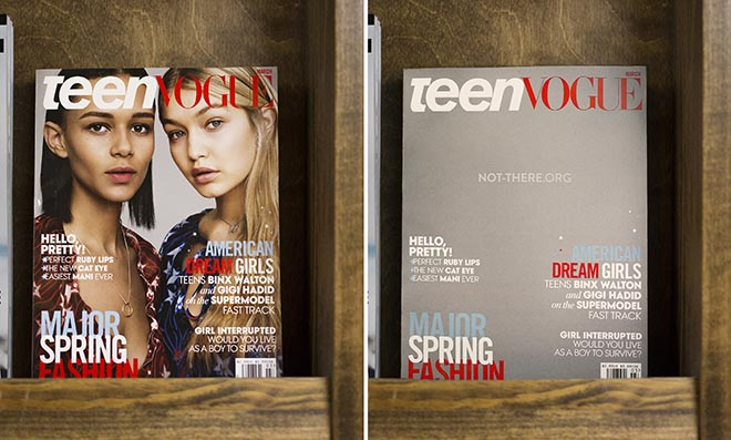 Not There Yet Teen Vogue Before & After