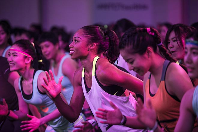 Nike Women #betterforit Allyson Felix NTC Shanghai