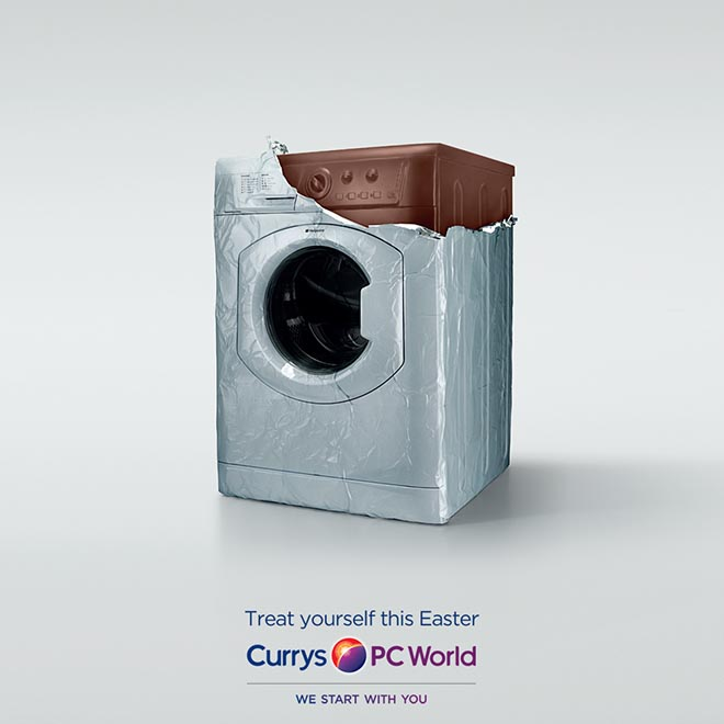 Currys PC World chocolate washing machine