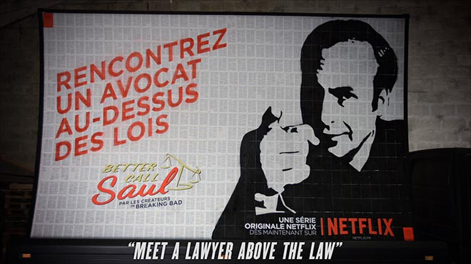 Netflix Meet a lawyer above the law